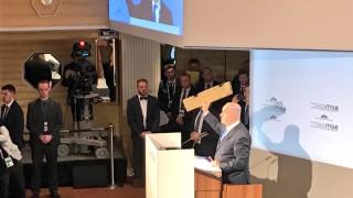 Нетаняху размахва парче от дрон, предупреждавайки Иран: Не ни тествайте