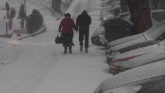 Търновец подкара сноуборд по стръмните улици
