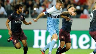 Арсенал загря за старта на сезона с успех над Лацио
