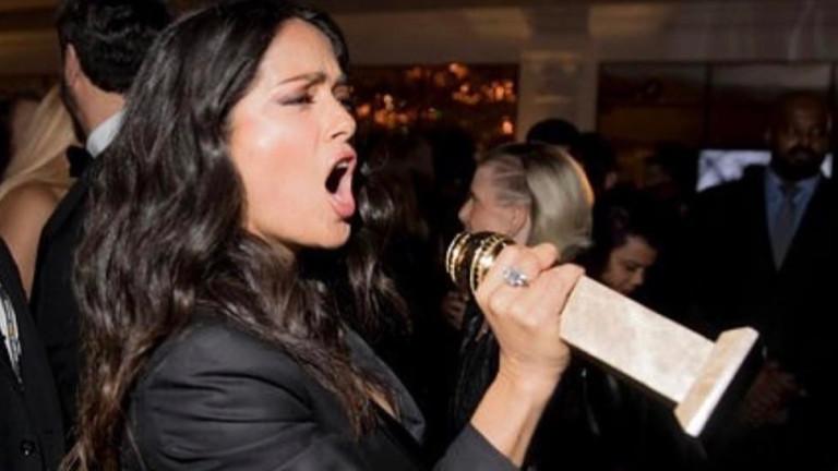 Когато и Салма Хайек запее