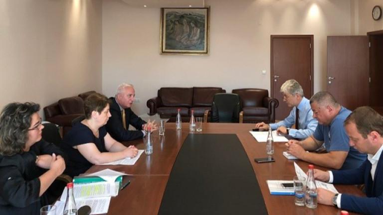 Сметната палата запозна министъра на околната среда и водите Нено