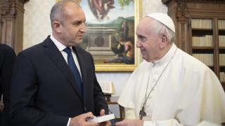 Папа Франциск пожелал сближаване с източноправославната църква