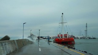Рибарски кораб горя в Созопол