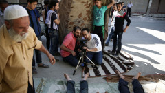 Руски ТВ канали показват епизод  от игрален филм като документални кадри за Сирия