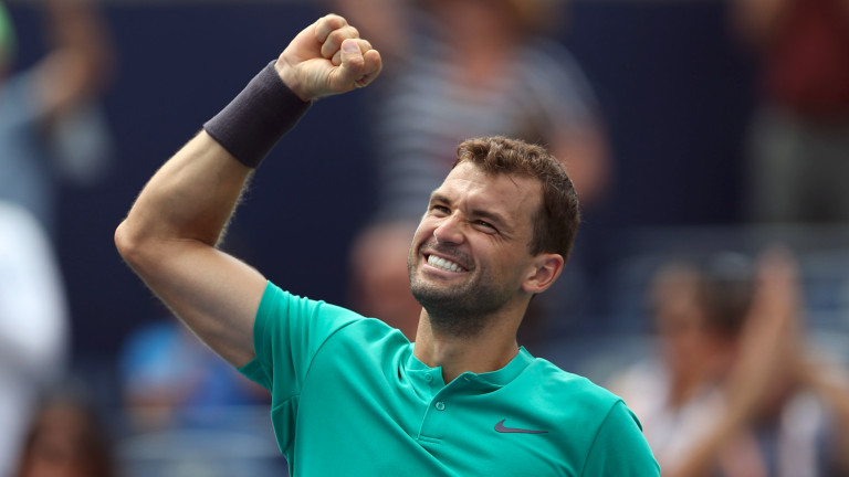 Григор Димитров: Роджър Федерер е икона, но всички сме равностойни на корта