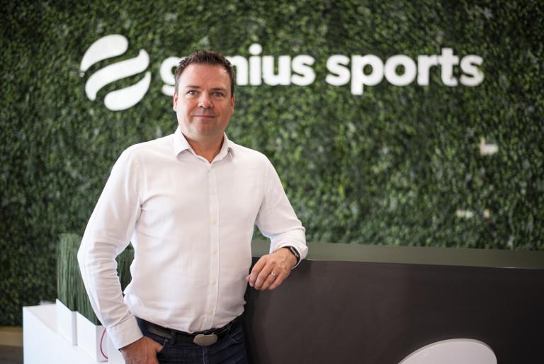 Стивън Гарднър, директор доставки и услуги в Genius Sports