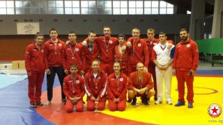 ЦСКА се похвали с трима републикански шампиона по самбо
