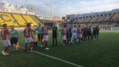 "ЦСКА не успя да вкара гол на Арис, ""червените"" загубиха контролата в Солун"