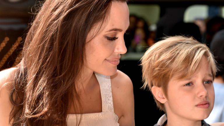 Какво иска дъщерята на Анджелина Джоли и Брад Пит