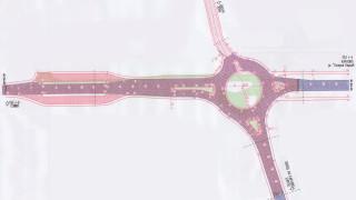 Направиха първа копка на кръговото кръстовище на Подбалканския път при Карлово