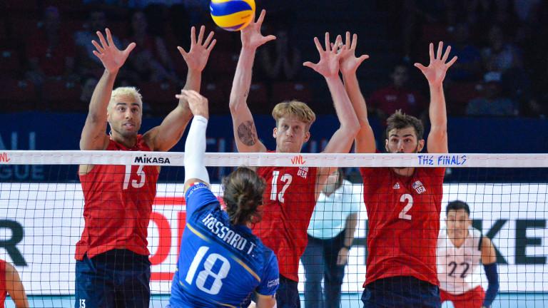 Волейболистите на САЩ не дадоха гейм на Русия, Полша срази Канада