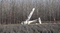 Малък самолет падна край русенско село