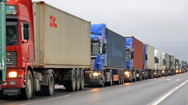 Трафикът на границата ни с Гърция остава интензивен