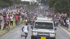 Стъпкани до смърт деца на поклонението на президента на Танзания