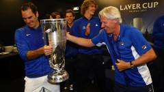 """Роджър Федерер донесе победата на Европа и вдигна """"Лейвър къп"""""""
