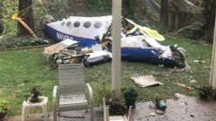 Петима души загинаха при катастрофа на самолет върху къща в Калифорния