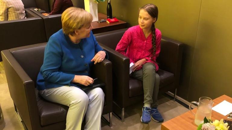 В речта си пред ООН 16-годишната шведска екоактивистка Грета Тунбергне