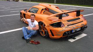 Немски принц потроши уникално Porsche Carrera (галерия)