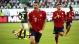 Байерн (Мюнхен) победи Волфсбург с 3:1 като гост
