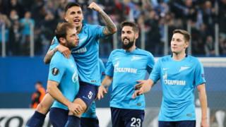 УЕФА наказа Зенит заради расизъм и пиротехника