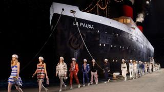 На круизния кораб на Chanel