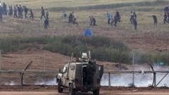 Десетки ранени палестинци при нови сблъсъци в Газа
