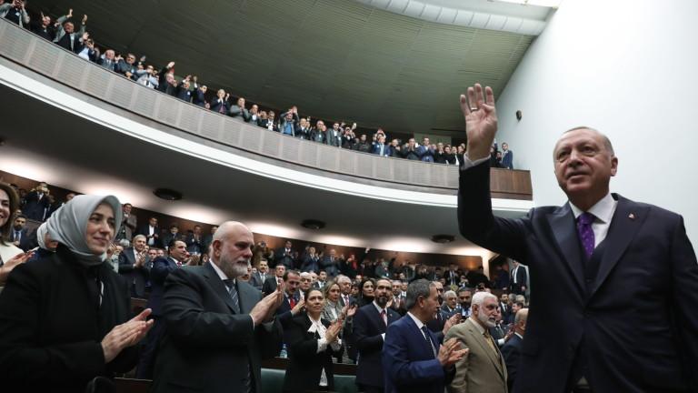 Турският президент Реджеп Тайип Ердоган обяви, че страната му работи