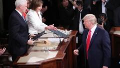 """Тръмп """"си го върна"""" на Нанси Пелоси"""