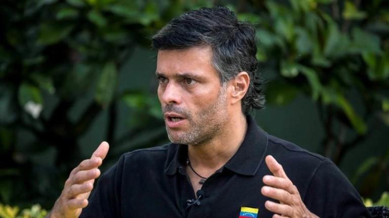 Леополдо Лопес, венецуелски опозиционен политик и ментор на лидера на