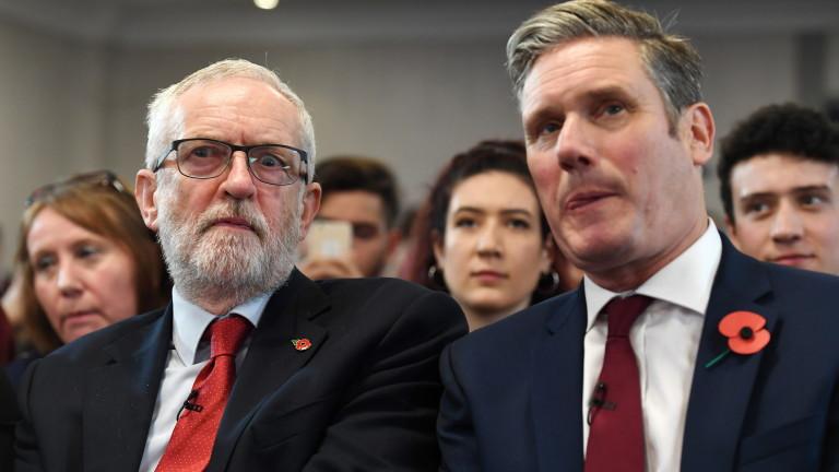 Лидерът на лейбъристите отказва да върне Джереми Корбин в парламентарната група