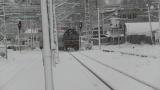 Движението на влаковете е спряно в 8 участъка заради тежките зимни условия