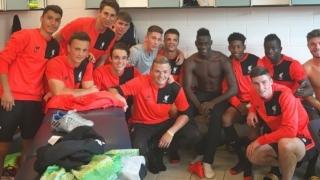 Супер Марио горд, че тренира с втория отбор на Ливърпул