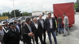 """Силовият министър обеща мерки за бързо преминаване през """"Кулата -Промахон"""""""