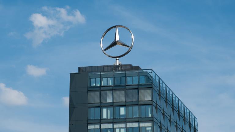 Mercedes-Benz съкращава хиляди работни места