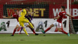 ЦСКА - БАТЕ (Борисов) 2:0, попадение на Греъм Кери
