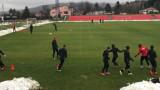 Дъждът и снегът не стреснаха ЦСКА