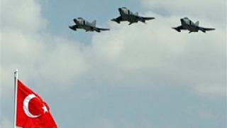 Мощен авиоудар на Турция срещу кюрдски бази
