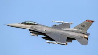 Ф-16 на ВВС на САЩ се разби до германския град Триер