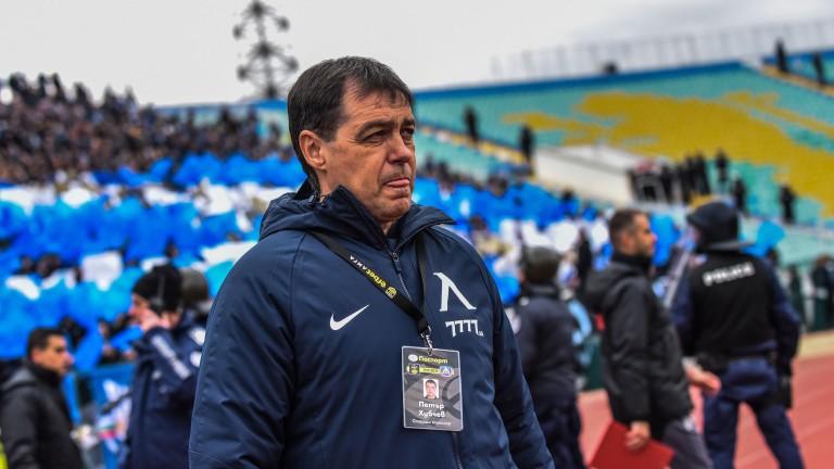 Хубчев похвали талант на Левски