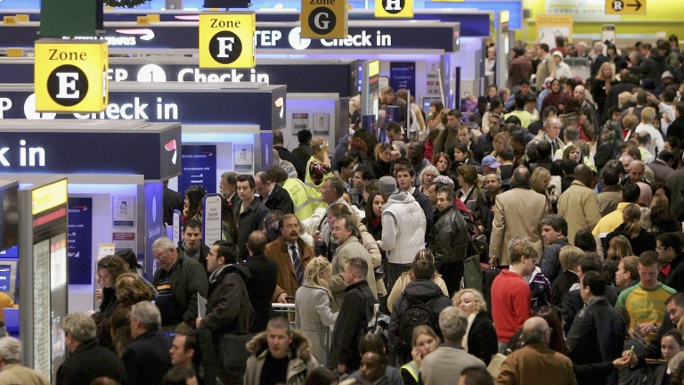 Кои бяха най-големите летища за 2018 година?