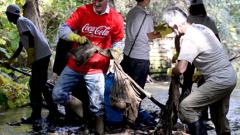 200 чувала боклуци събраха в Южния парк