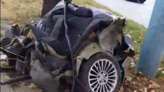 Тежка катастрофа на главен булевард в Пловдив