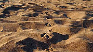 Отново крадат пясък от природна забележителност