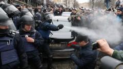 Отново не успяха да арестуват Саакашвили