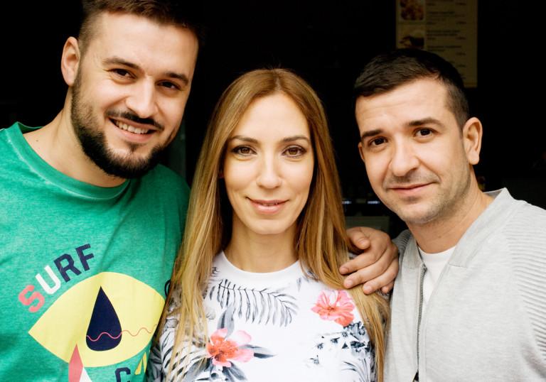 Петър, Ангелина и Живко