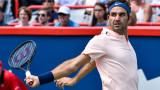 Роджър Федерер загуби сет, но е фаворит в Монреал