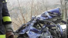 Тежка катастрофа със загинала жена до Хасково