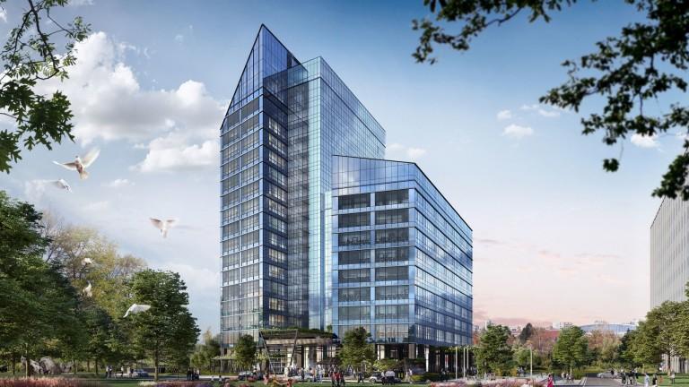 Synergy Tower е най-новия офис проект на
