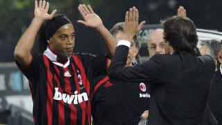 Милан преби Юве в дербито на Италия