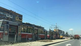 Трамваите 3, 4 и 18 временно са до Централна гара